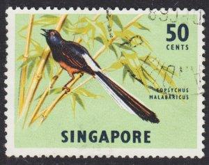 Singapore Scott 66 F to VF used.
