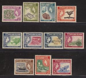 Pitcairn Is 20-30 VF-MLH set nice colors cv $64 ! see pic !