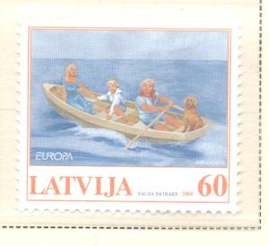Latvia Sc 594 2004 Europa stamp mint NH