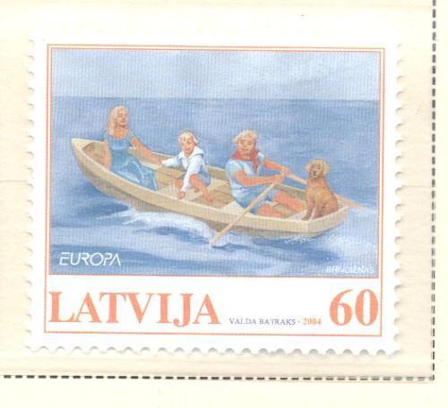 Latvia Sc 594 2004 Europa stamp mint NH