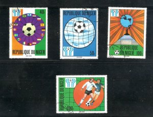 Niger  (1978 )  - Scott # 438 - 441,