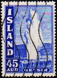 Iceland. 1938 45a S.G.230 Fine Used