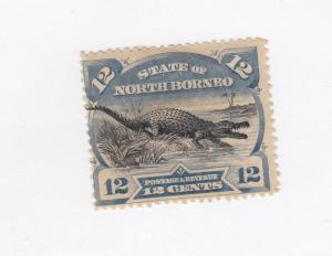 NORTH BORNEO # 65 VF-MHH CAT VALUE $47.50