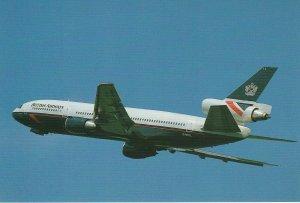8268 Aviation Postcard  BRITISH AIRWAYS DC-10-30  Airlines