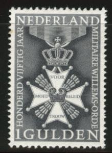 Netherlands Scott 435 MH* 1965 Military medal
