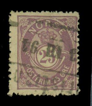 Norway #45 Used F-VF Cat$30