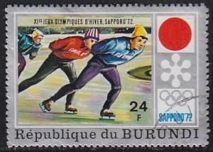 Burundi 390 XI Winter Olympic Games, Sapporo 1972