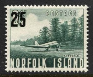 STAMP STATION PERTH Norfolk Island #27 Surcharge Issue MNH - CV$6.00