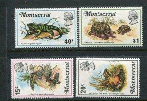 Montserrat MH 282-5 Reptiles