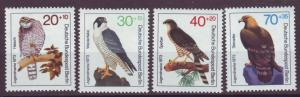 J20747 Jlstamps 1973 berlin germany set mnh #9nb97-100 birds