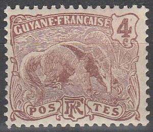 French Guiana #53 F-VF Unused  (V4189)
