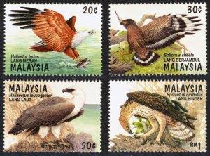 Malaysia 1996 Scott #582-585 Mint Never Hinged