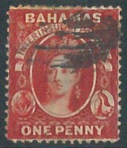 70316h  - BAHAMAS - STAMP: Stanley Gibbons #  33  -  Used