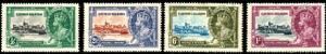 Reign of King George V, 25th, Cayman Islds SC#81-4 mint set