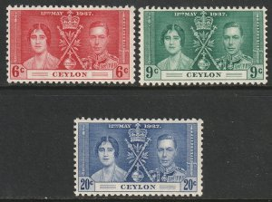 Ceylon Sc 275-277 set MLH