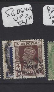 INDIA NABHA   (PP0807B)  KGVI     SERVICE SG O64-5        VFU