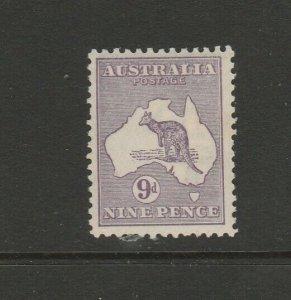 Australia 1915 9d Kangaroo, MM SG 27