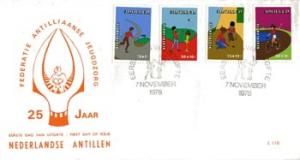NETH.ANTILLES 1978 - FDC - B156-9 Children(WE868)