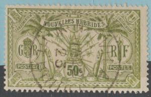 FRENCH NEW HEBRIDES 28 USED - NO FAULTS EXTRA FINE!