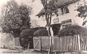 BLEWBURY POST OFFICE - OFFICIAL PO PHOTOGRAPH Berkshire
