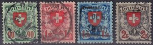 Switzerland #200-03 F-VF Used CV $31.00 (Z9370)