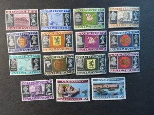 GUERNSEY # 41-55-MINT NEVER/HINGED--COMPLETE SET--1971