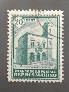 San Marino - 134 F-VF Used . Scott $ 21.00.
