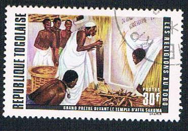 Togo 786 Used Religions of Togo (BP11215)