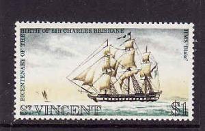 St Vincent-Sc#343-unused NH-HMS Blake-Ships-1972-