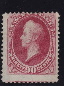 155 Scarce unused ( mint no gum ) with nice color cv $ 1800 ! see pic !