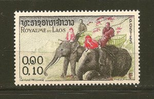 Laos 41 Elephant Mint Hinged