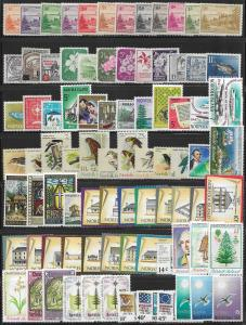 Norfolk Is. lot of 84 mint & used stamps 2017 SCV $84.90 - avg cv of $1.05 each