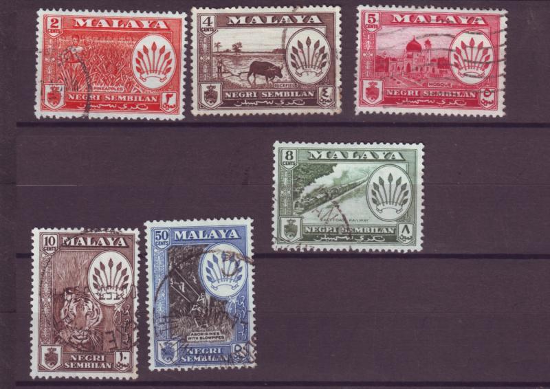 J17884 approx 10% of scv various 1957-63 malaya-negri sembilan used #65-