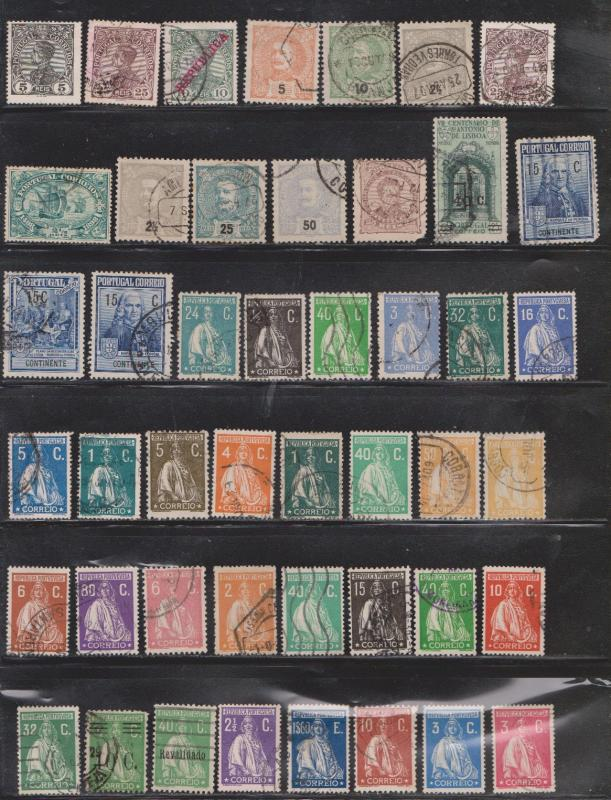 PORTUGAL Stockpage # 4 - Used - Various Issues Good Variety
