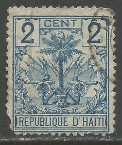 HAITI 27 VFU ARMS Y093-3
