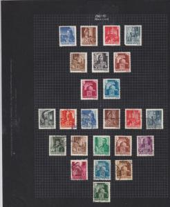 hungary 1943-45 mint & used  stamps page ref 17640