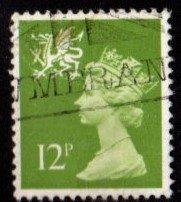Wales - #WMMH17 Machin Queen Elizabeth II - Used