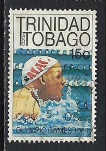 TRINIDAD & TOBAGO 412 VFU OLIMPYCS 186F