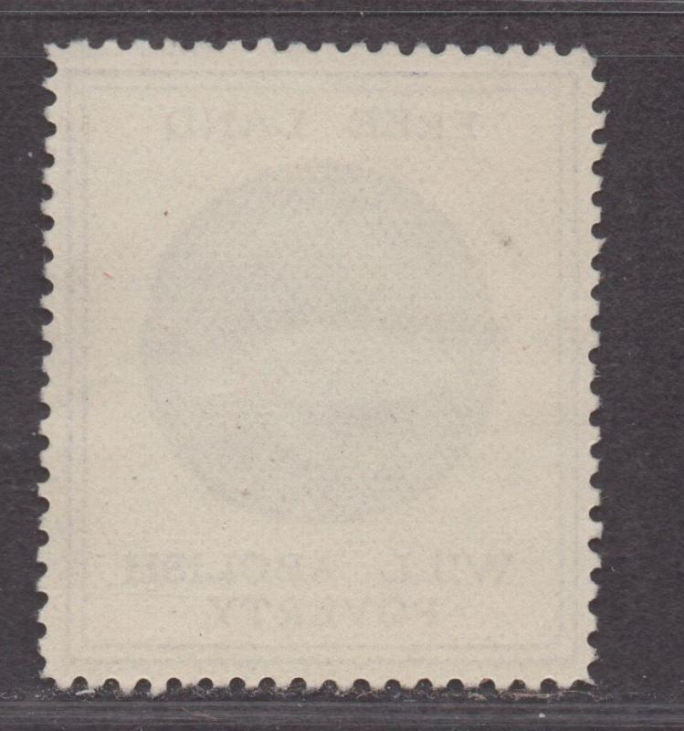 **US Cinderella, RARE 1800's Free Land Will Abolish Poverty Poster Stamp, NG