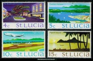 Saint Lucia Scott 263b-268a Mint never hinged.