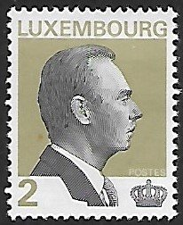 Luxembourg # 883A - Grand Duke Jean - 2F - used...(KlGr)