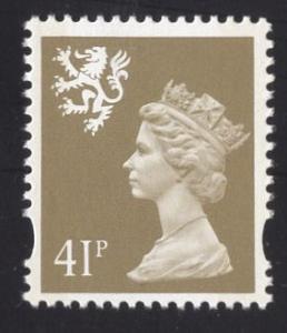 Great Britain Scotland  #SMH69   1993   MNH  Q E II Machin syncopated  41p.