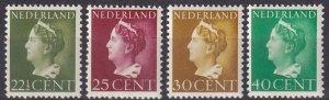 Netherlands #222-5 MNH CV $4.75 (Z7822)
