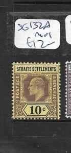 MALAYA STRAITS SETTLEMENTS (PP0901B) KE 10C  SG 132A  MOG
