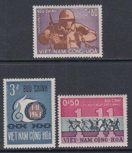 Viet Nam 244-246 MNH VF