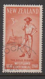 New Zealand Sc#331 Used