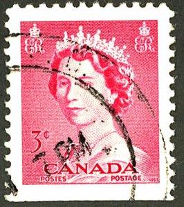 CANADA #327 UNUSED BOOKLET