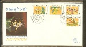 1986 - Rep. Surinam FDC E101 - Flora - Flowers - WNF - Orchids [LN009]