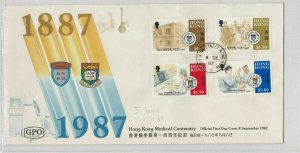 Hong Kong Stamps Cover 1987 Ref: R7586