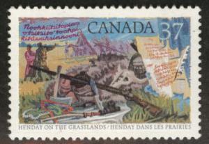 Canada Scott 1199 MH* stamp 1988